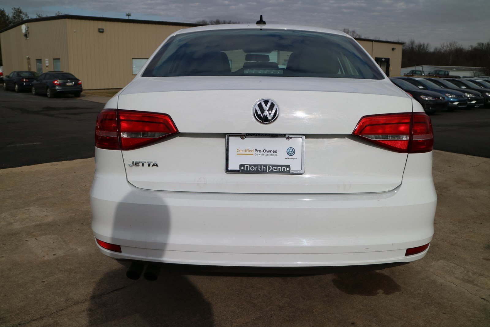 Certified Pre-Owned 2015 Volkswagen Jetta 2.0L S w/Technology