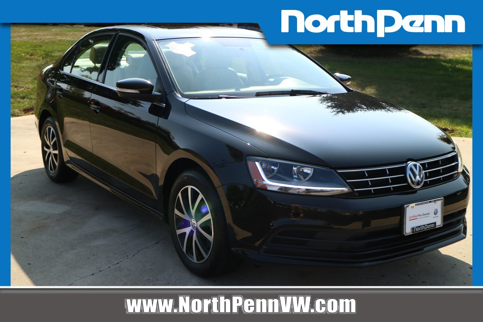 North Penn Volkswagen >> Certified Pre Owned 2018 Volkswagen Jetta 1 4t Se Fwd 4dr Car