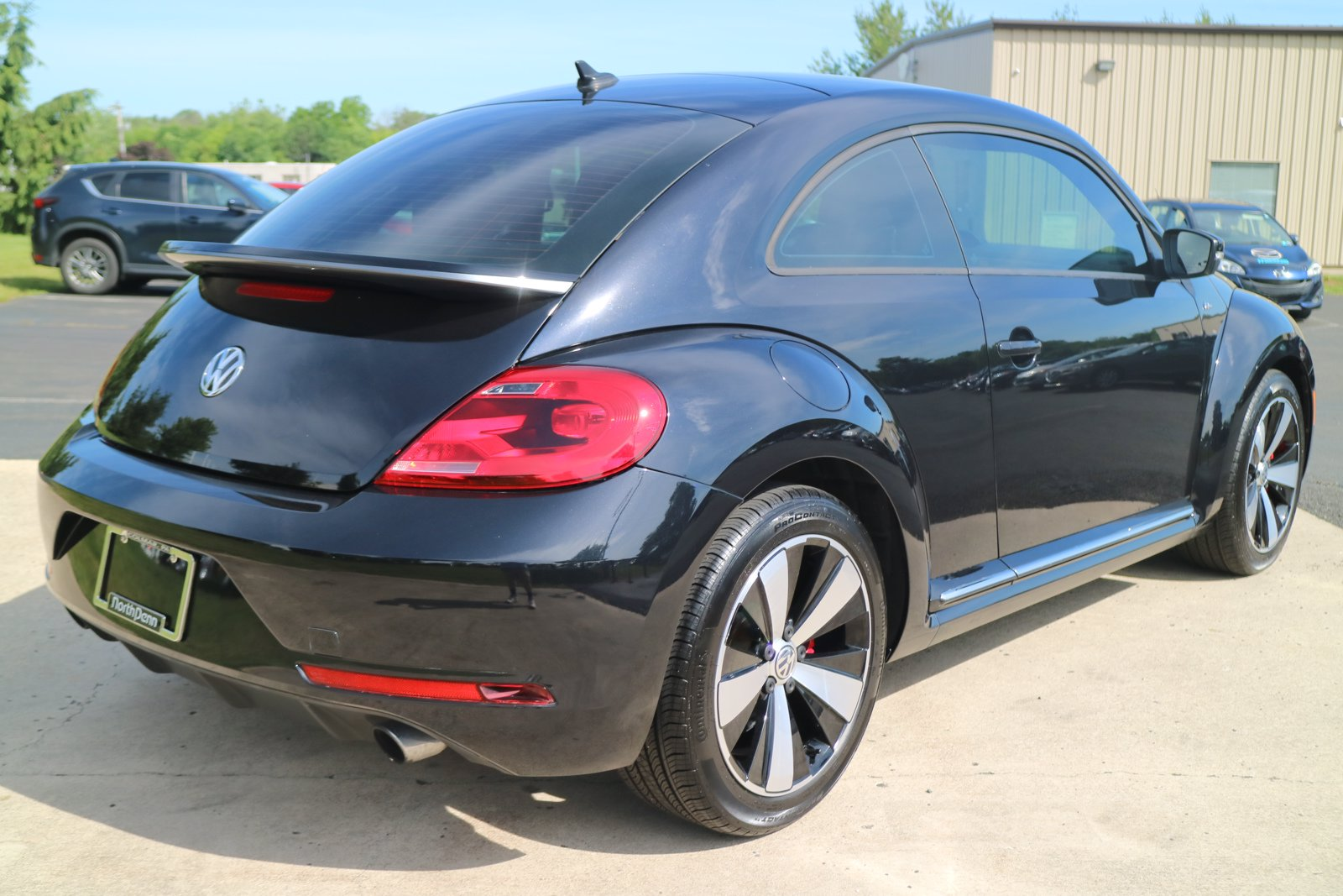 Certified Pre-Owned 2015 Volkswagen Beetle Coupe 2.0T R-Line