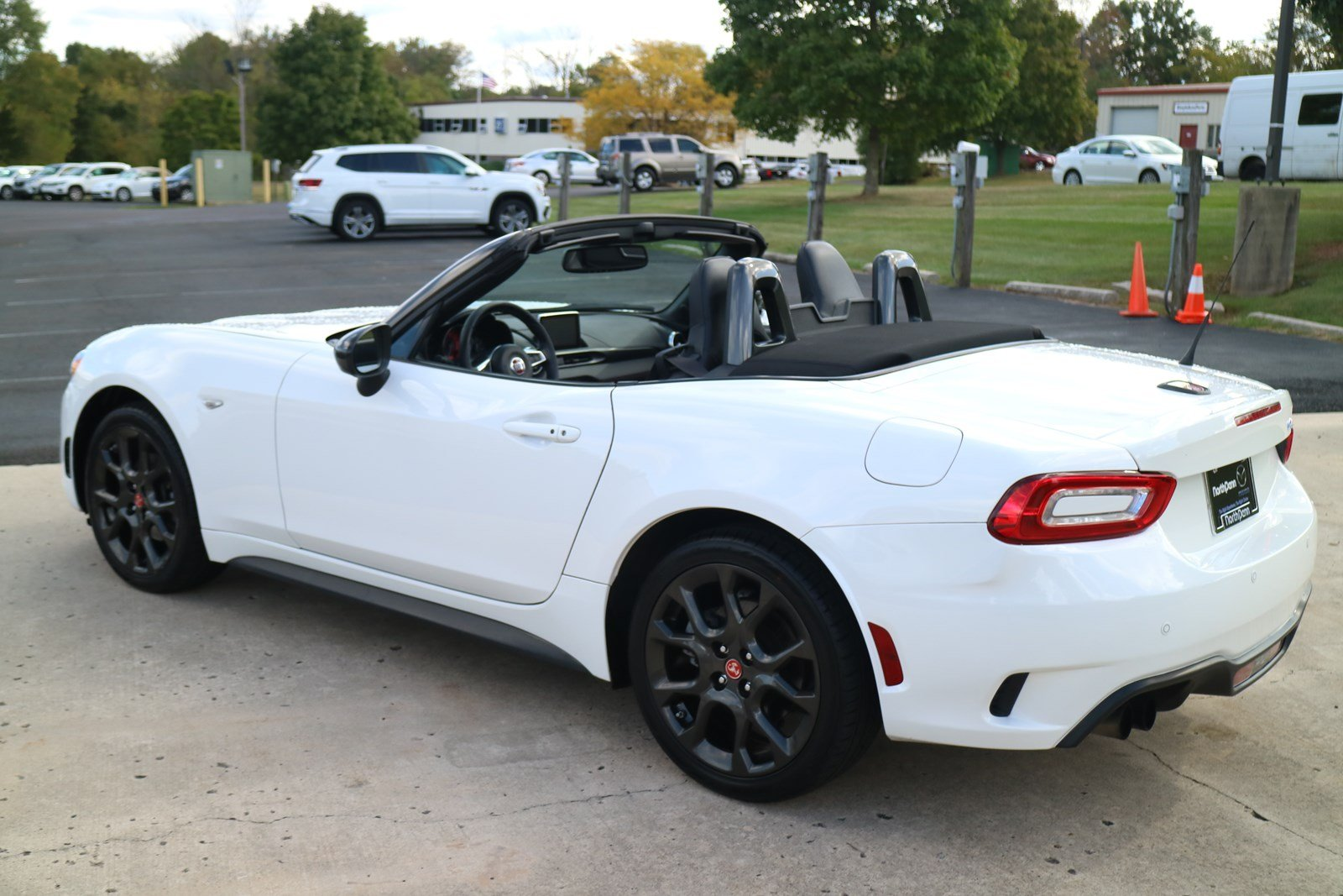 Pre-Owned 2017 FIAT 124 Spider Elaborazione Abarth