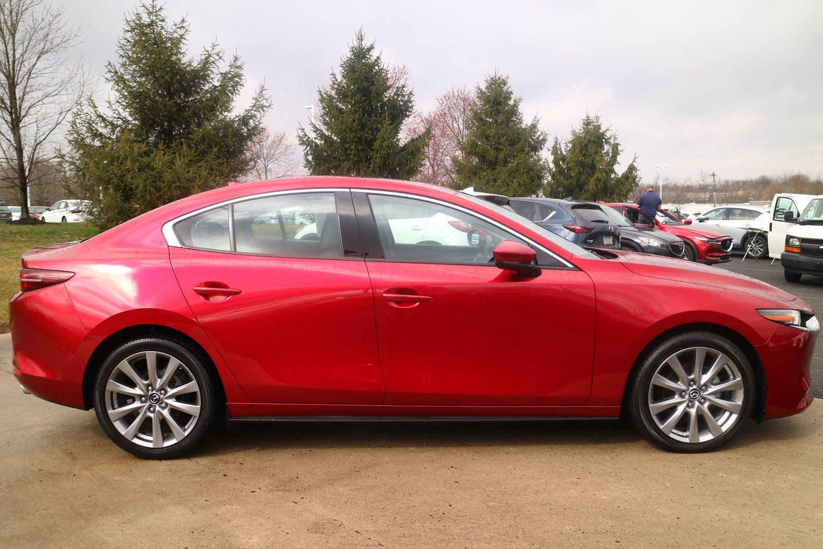 Pre-Owned 2019 Mazda3 Sedan w/Premium Pkg