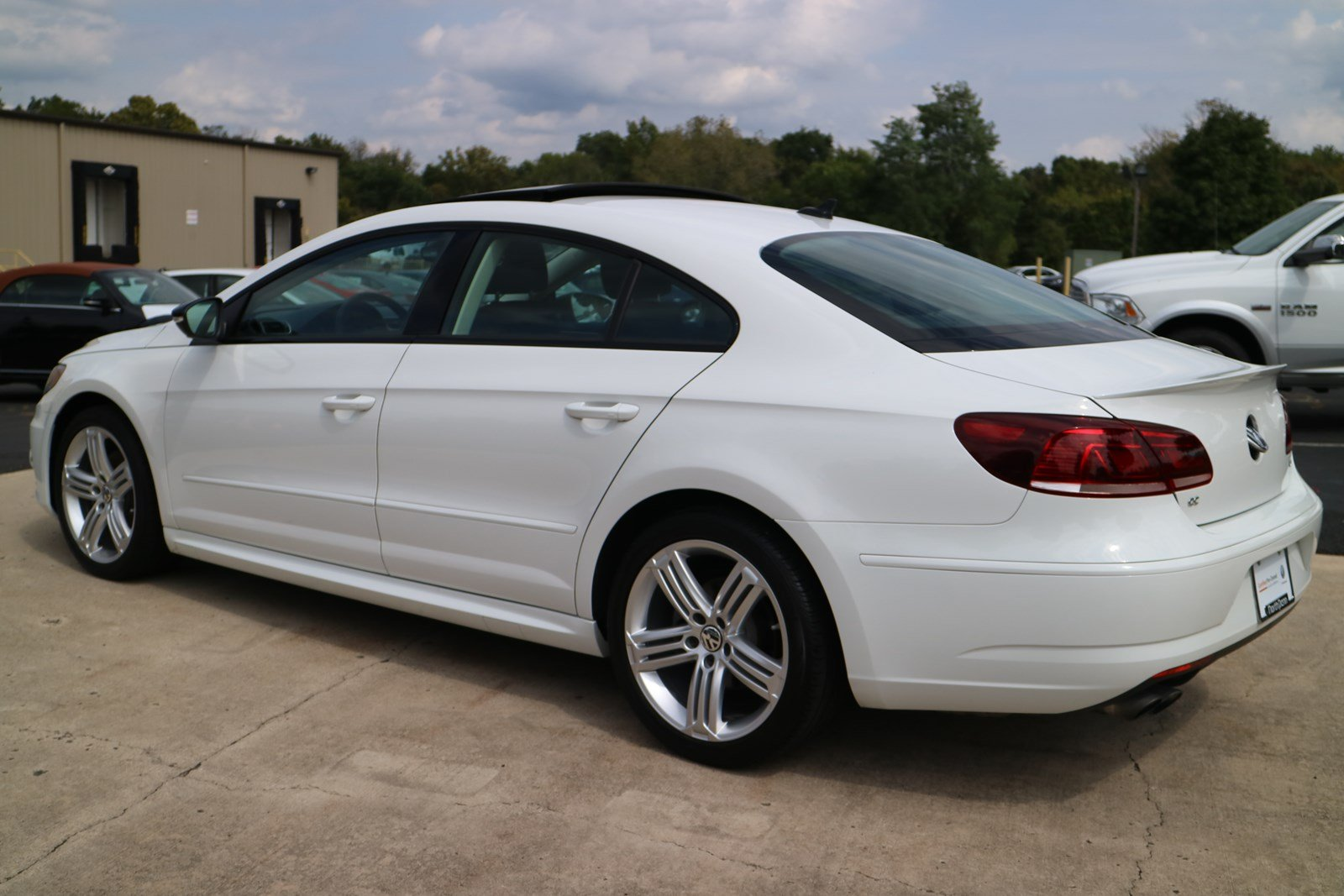 Certified Pre-Owned 2017 Volkswagen CC R-Line 2.0T Executive