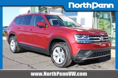 New 2019 Volkswagen Atlas V6 S with 4MOTION®