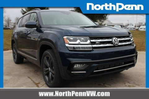 New 2020 Volkswagen Atlas 3.6L V6 SE w/ Technology R-Line