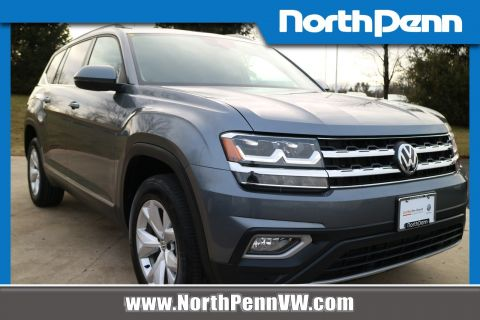 Certified Pre-Owned 2018 Volkswagen Atlas 3.6L V6 SEL