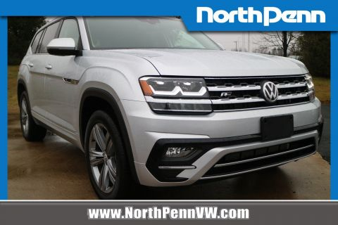 Certified Pre-Owned 2018 Volkswagen Atlas 3.6L V6 SE w/Technology R-LINE