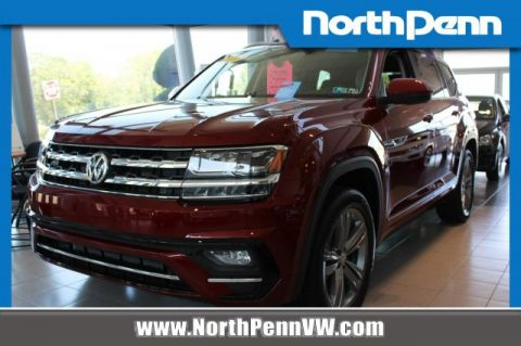 New 2018 Volkswagen Atlas 3.6L V6 SE w/Technology