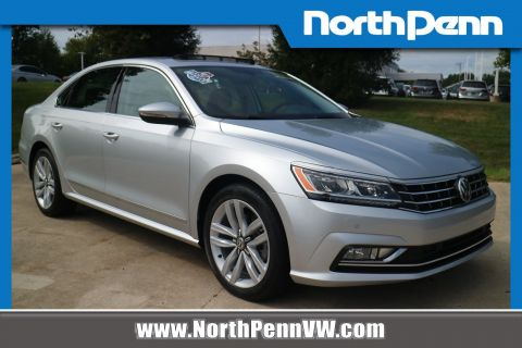 Certified Pre-Owned 2017 Volkswagen Passat 1.8T SE w/Technology