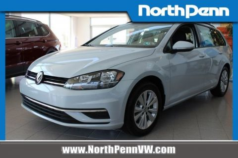 New 2019 Volkswagen Golf SportWagen S with 4MOTION®