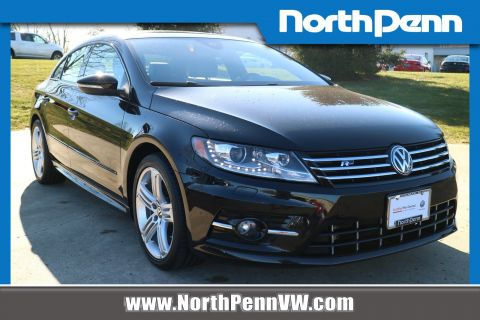 Certified Pre-Owned 2017 Volkswagen CC R-Line 2.0T Executive w/Carbon